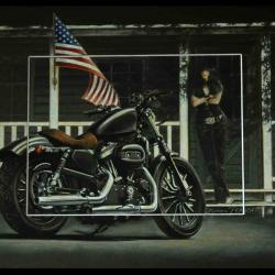 AN AMERICAN STORY - 30x40cm - AV for sale