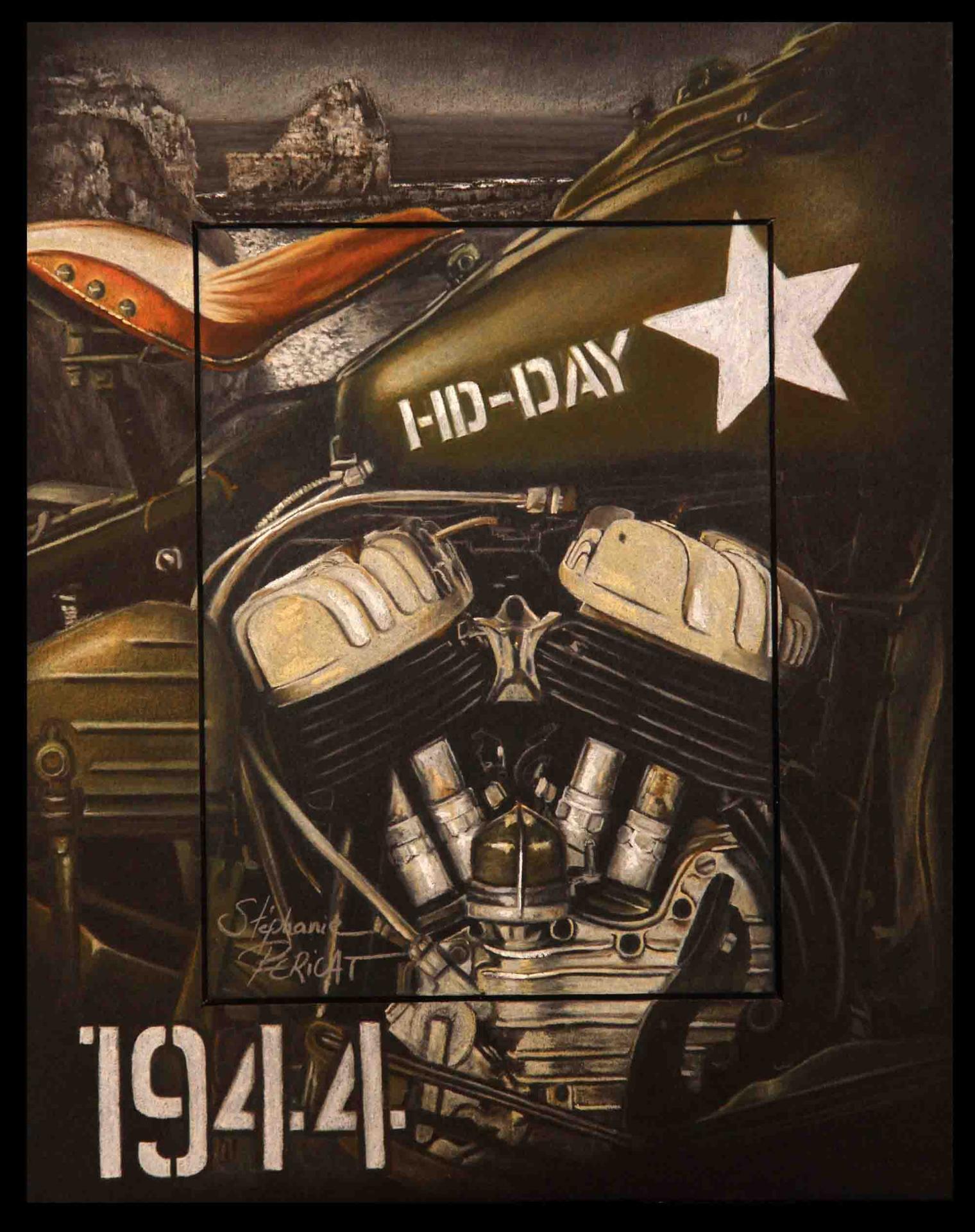 HD-DAY, A HEROIC LEGEND (HD memory) - 24x30cm - AV for sale